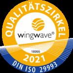 Wingwave® Qualitätszirkel Siegel